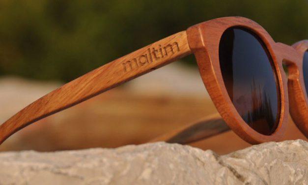Gafas de sol Maltim de madera hechas a mano